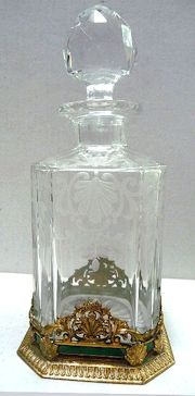 French Etched Perfume
