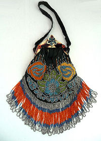 Beaded Miser Purse