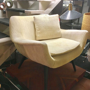 Pair Selig Lounge Chairs