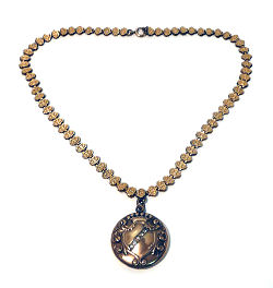 W & H Co. Jeweled Locket