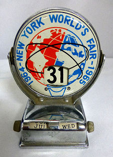 New York Worlds Fair Perpetual Calendar