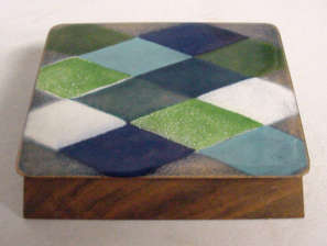 Ernest Sohn Enameled Box