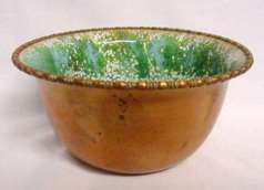 Nekrassoff Copper and Enameled Bowl