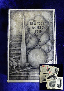 New York Worlds Fair Cards