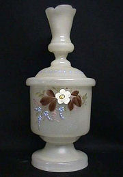 Hand-Painted Powder Jar
