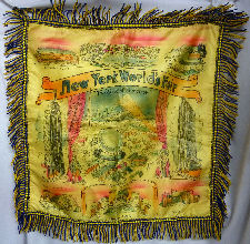 1939 New York Worlds Fair Pillow Sham