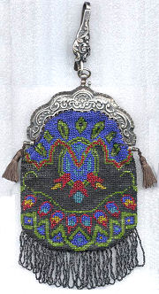 Chatelaine Beaded Purse
