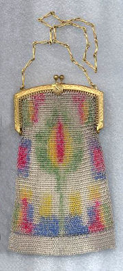 Sorority Mesh Purse