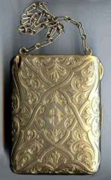 Exquisite Gold Vermeil over Sterling Silver Vanity Case by Blackinton