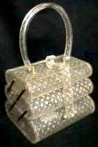 Rare Triple-Tier Wilardy Lucite Purse