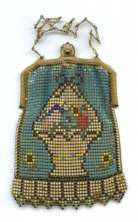 Whiting and Davis Figural Mesh Purse