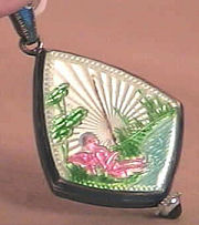 Angel Enamel Guilloche Watch