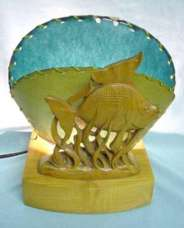 Fish TV Lamp