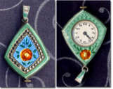 Jeweled Pendant Watch
