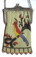 Rare Cockatoo Mesh Purse