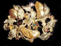 Har Jeweled Brooch Enlarged Image