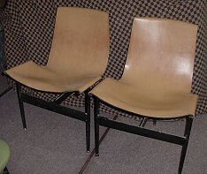Pair of T Angle Chairs