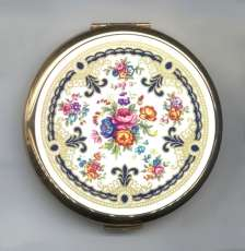 Stratton Chintz Compact from England