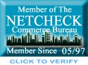 Proud Member of NetCheck Commerce Bureau